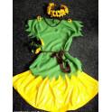 Kostýmek na karneval Slunečnice UNI velikost