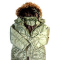 Dívčí kvalitní zimní bunda vel.116