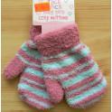 Pletené rukavice (palčáky)1-3 roky 965050 pink