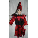 Kostým Čarodějnice malá vel.128