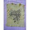 vel.116 George Dívčí žluťáskové tričko