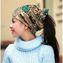 Hip-hop FLAG Dámská Pokrývka hlavy/čepice/šátek zelená