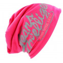Teplá Módní Dámská čepice růžová