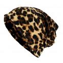Multifunkční Pokrývka hlavy. Čepice/šátek gepard