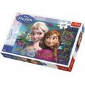 Puzzle Ledové království Anna a Elsa  41 x 27,8 cm