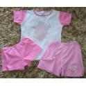 5-6 let dívčí bavlněné pyžamo