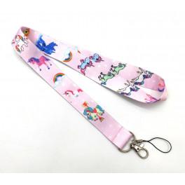 Unicorn Jednorožec řemínek / popruh na telefon nebo klíče