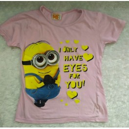 Mimoni BOB Dívčí tričko MINIONS vel.128
