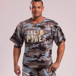 Legal Power Rag Top 2889-864 Blue camo