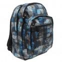 Hot Tuna Print Backpack Batoh 715057 Blue Photoprint