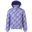 Everlast Hooded Bomber Bunda Dívčí 618128 Purple