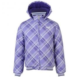Everlast Hooded Bomber Bunda Dívčí 618128 Purple