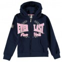 Everlast Logo Zip Junior Mikina 539252