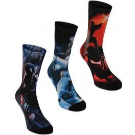 Star Wars 3 ks Ponožky 418032