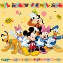 Polštářek s výplní Disney Mickey and Friends 40x40 cm