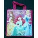Dětská nákupní taška 3 Princezny 32 cm