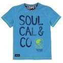 SoulCal Large Logo Chlapecké Tričko 598187 Blue