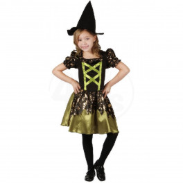 Kostým čarodějnice 120-130 cm (7-9 let)