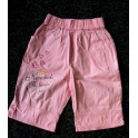 3/4 plátěné kalhoty vel.110