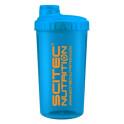 Scitec Nutrition Shaker Neon modrý 700 ml