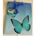 Dárková Taštička Blue 25.5 cm