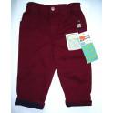 Baby Kalhoty Vínové vel.74