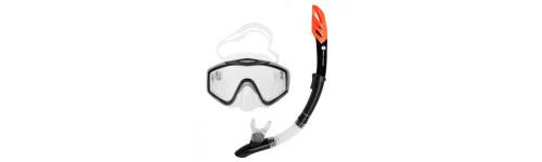 Potápění (šnorchly, brýle, ploutve)
