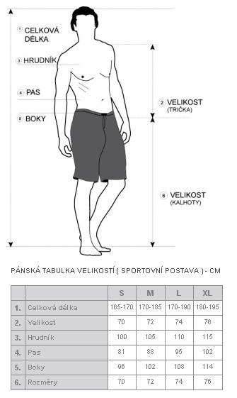 UNCS kalhoty